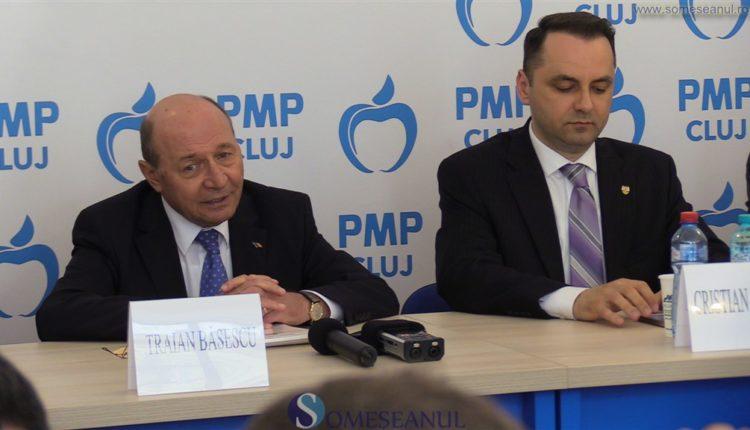 Traian Basescu Cristian Lungu PMP Cluj