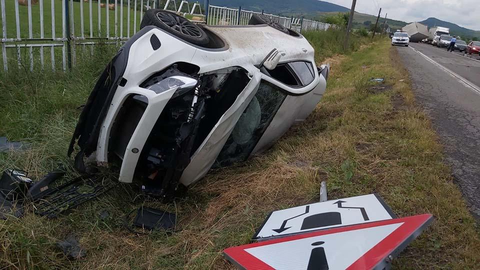 accident masini rasturnate capus cluj