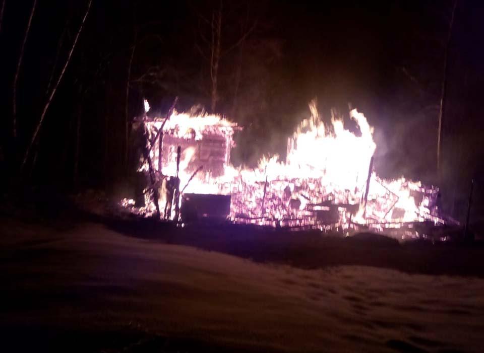 incendiu cabana calatele