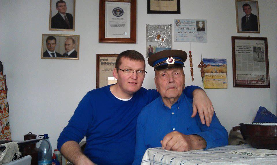 1_Juca Petru impreuna cu nepotul Lavrincic Gabriel Antoniu