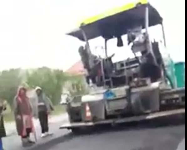 asfaltare ploaie aschileu