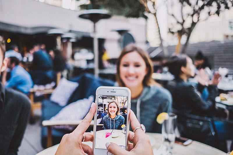 smartphone aplicatie foto